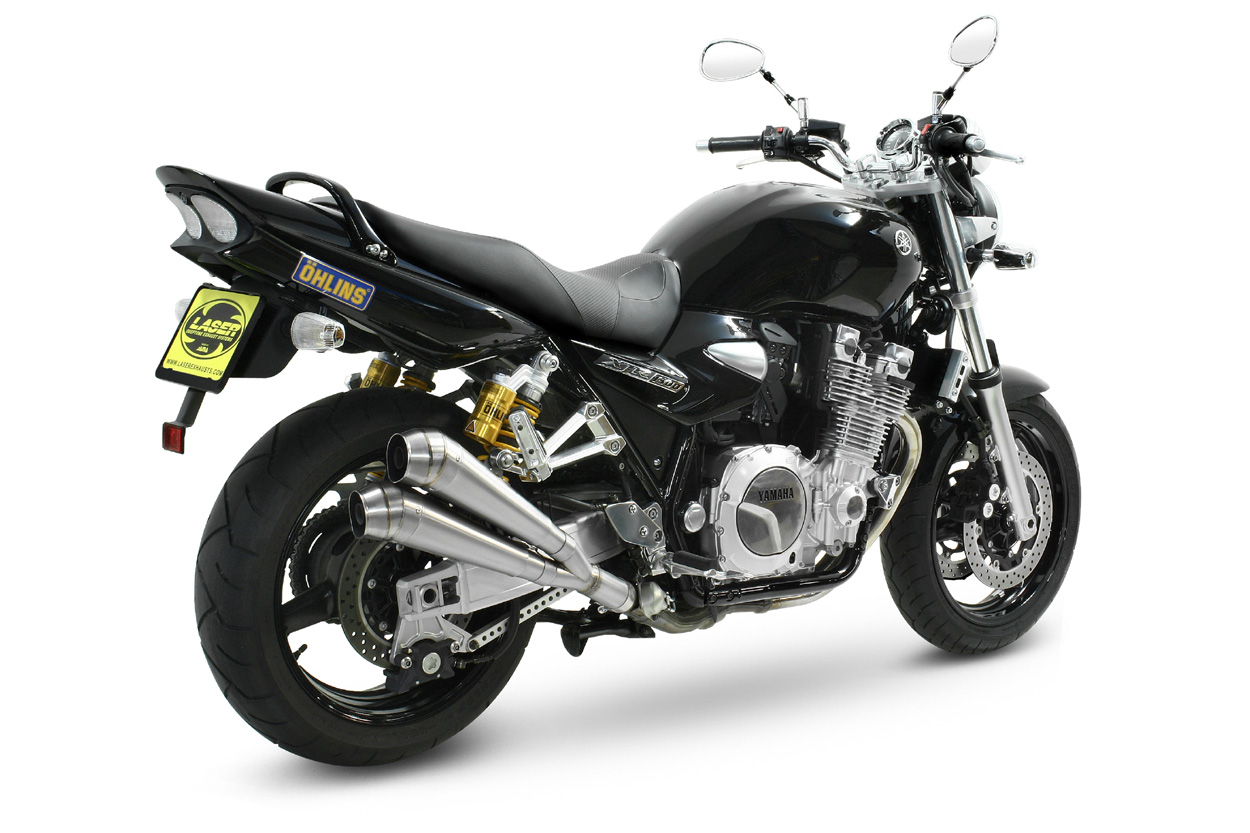 laser gp style exhaust muffler xjr 1300 as of 2007 rp19. Black Bedroom Furniture Sets. Home Design Ideas