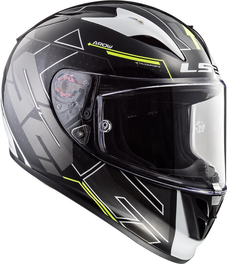 XS Taille XS LS2 Casque moto ARROW R EVO Noir Noir
